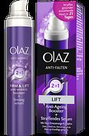 Olaz Antifalten Fest & Straff 2in1 Tagescreme & Serum - 2в1 Дневной крем и сыворотка против морщин