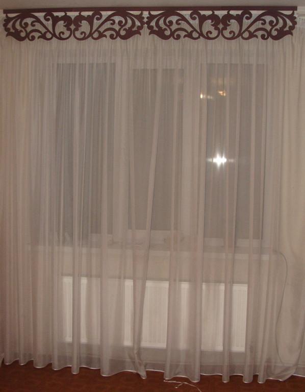 Лазерные жесткие ламбрекены -1