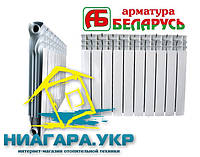 Биметаллическая батарея АБ RBB 500x85мм Беларусь (10 секций)