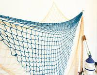 Рыболовная сеть декоративная в средиземноморском стиле пляж сцена украшение