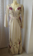 Платье роскошное вышивка Frock&Frill р.42-44 7426