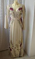 Плаття розкішне вишивка Frock&Frill р. 42-44 7426