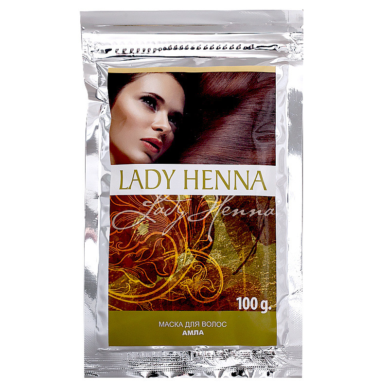Маски для волос «Амла», Lady Henna