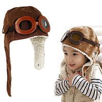 Детская шапка ушанка Пилот