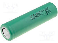 ACCU-18650-2.2S Li-Ion; 18650,MR18650; 3.6V; 2200mAh; 4.4A