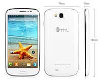 """Смартфон THL W8 экран 5"""" новый 4-х ядерный на Android 4.2 MT6589 Quad Core белый, white"""