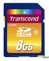 Карта памяти Transcend SDHC 8Gb Class 10