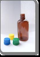 Бутылочка пластиковая емкость 100 мл