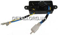 AVR регулятор напряжения генератора прямоугольный 1, 2, 3 квт
