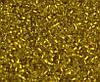 Бисер стеклянный 400 гр.№30 золото