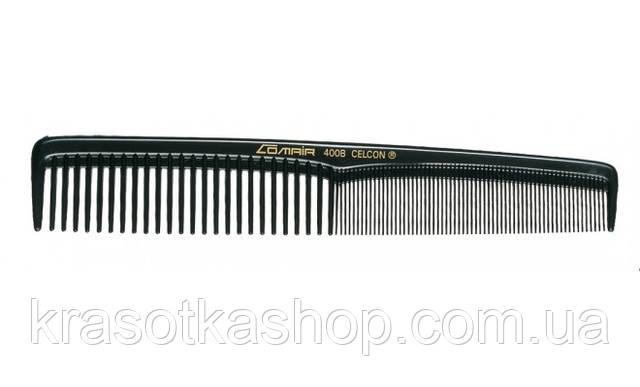 Гребень Comair 400B для стрижки волос широкий «Black Profi Line», черный