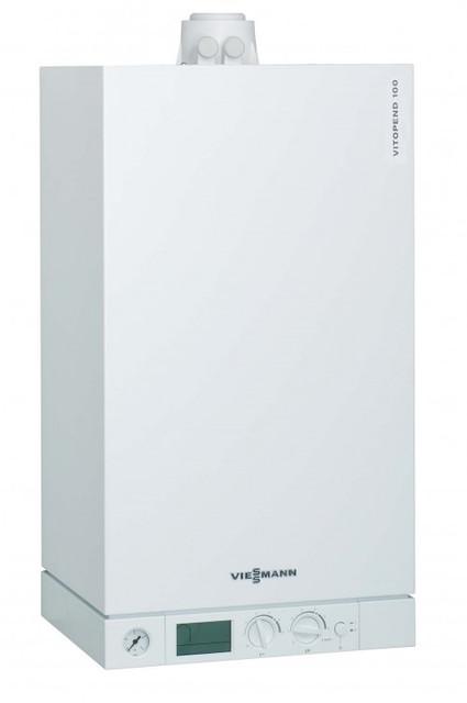 Конденсационный котел VIESSMANN VITODENS 100 WB1C 35 кВт.(двоконтур.) котел конденсационный