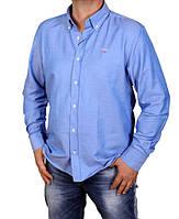 Рубашка мужская Gant-916 синяя