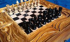 Шахматы - нарды ручной работы, фото 2