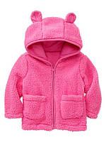 Куртка плюшевая  для девочки. 12-18 месяцев