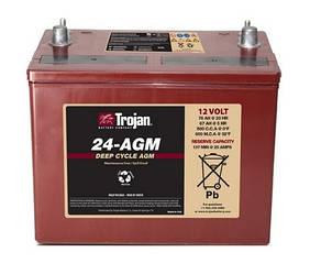 Аккумулятор Trojan 24-AGM (12 В 76 Ач)
