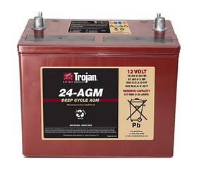 Акумулятор Trojan 24-AGM (12 В 76 Ач)