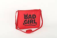 Маленькая женская сумка «Плохая девочка», фото 1