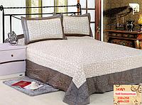 Покрывало 180х220 на  кровать с наволочками GoldenTex