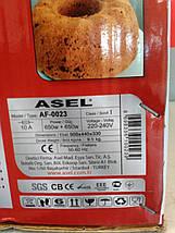 Электрическая духовка ASEL  AF - 0023 объёмом 33 литра Турция, фото 3
