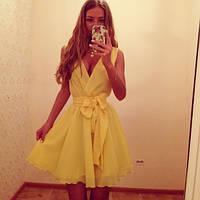 Платье шифоновое открытые ножки, фото 1