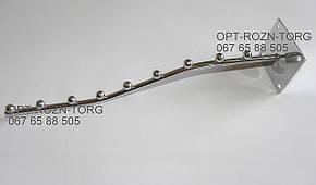 "Кронштейн (Флейта) настенная ""волна"" 32 см. 9 шар."