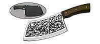 Нож с фиксированным клинком  Мясник