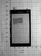 Nokia X6-012 Тачскрин 47x83мм screen шлейф (#1604)