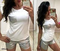 Женский костюм с шортами 379 ник , фото 1