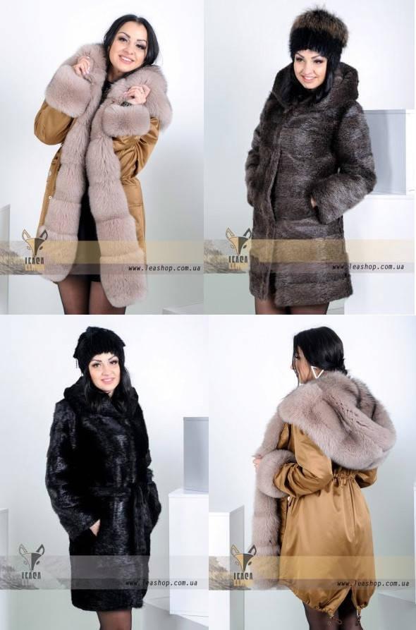 Купить куртку-парку зимнюю женскую украина