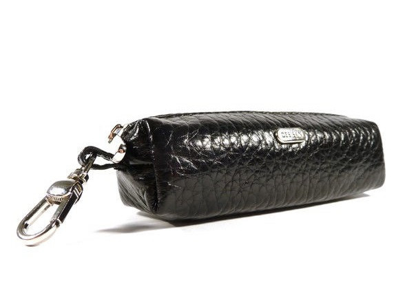 Чехол для ключей ключница на змейке черная Desisan 207-1 Турция