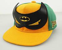 Детская кепка  с прямым козырьком Бэтмен для мальчика .