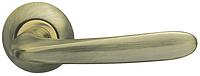 Дверные ручки ARMADILLO Pava LD42-1 AB/GP-6 бронза/матовое золото