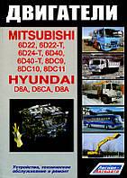 Книга Ремонт двигателя Mitsubishi 6D22, устройство, диагностика, регулировка и обслуживание