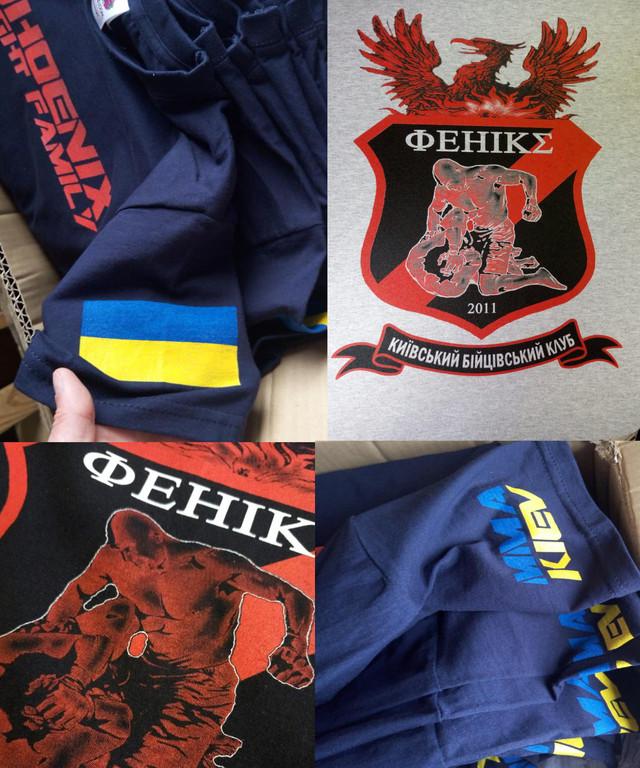 Примеры печати на футболках , кепках, ветровках и чашках