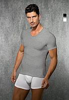 Мужская футболка Doreanse 2855 серый меланж