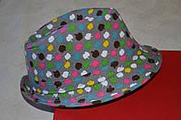 Шляпка для девочки стильная.