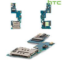 Коннектор SIM-карты для HTC C620e Windows Phone 8X, оригинал