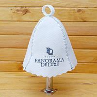 """Шапка в баню с логотипом """"Panorama Deluxe"""""""
