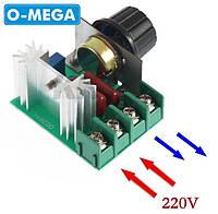 Регулятор мощности (диммер) 2кВт, фото 1