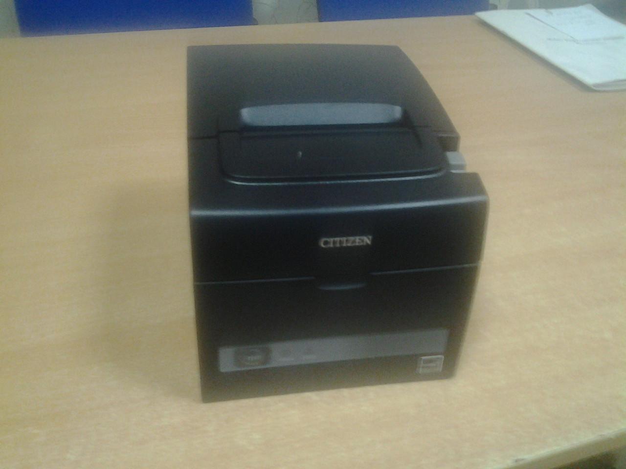 Чековый принтер Citizen CT-S310II (USB, автообрезка чеков, 80 мм)