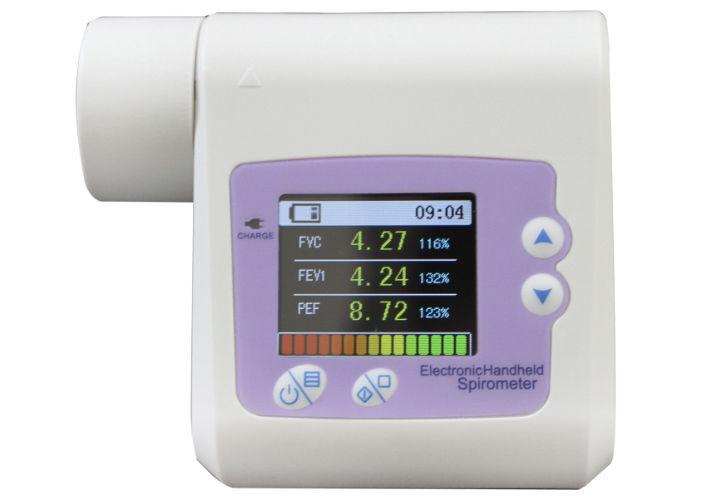 Спирометр ( спирограф ) SP10 для определения дыхательной способности с передачей данных на ПК, Contec