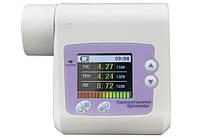 Спирометр ( спирограф ) SP10 для определения дыхательной способности с передачей данных на ПК, Contec, фото 1