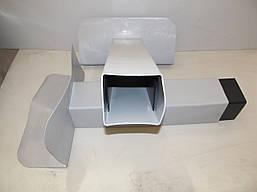 Переливная воронка квадратная ПВХ 65х100 мм