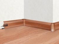 Плинтус-короб из ПВХ с  гибкими краями