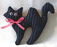 Игрушка ручной работы Кошка Сильва