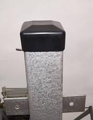Стовп для забору 2 метри, сталевий Стовпчик для профнастилу. 50х50мм