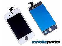 Оригинальный Дисплей (Модуль) + Сенсор (Тачскрин) для Iphone 4 (Белый)