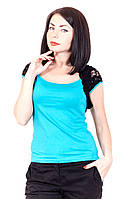 Футболка-двойка 255 (6 цветов), футболки недорого, женская футболка распродажа, дропшиппинг  украина