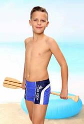 """Купальные плавки для мальчика """"Ocean"""" голубые (р.146, 152 см) (KEYZI, Польша)"""